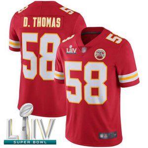 Youth Chiefs Derrick Thomas Super Bowl LIV Jersey